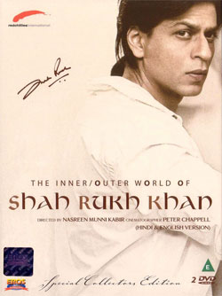 "Cover ""The Inner And Outer World Of Shah Rukh Khan"""